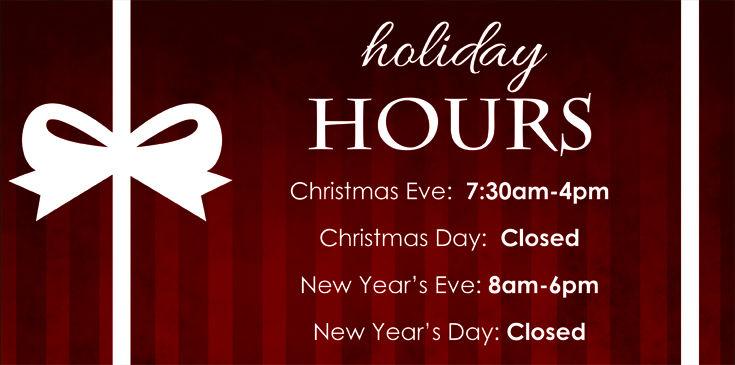 Stadium Flowers Holiday Hours