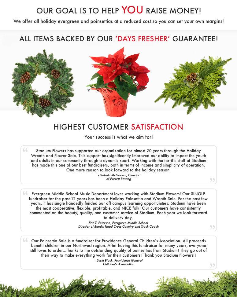 Holiday Fundraising Everett & Lynnwood, WA